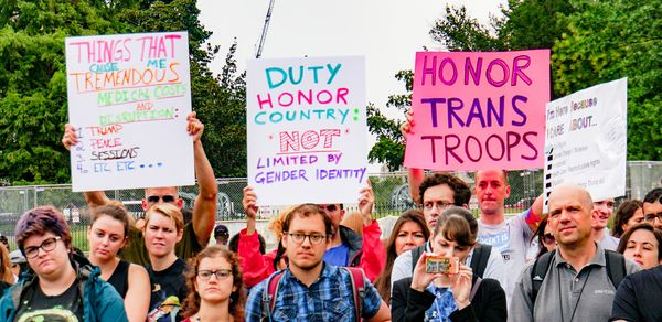 Supreme Court Upholds Trump Ban on Transgender Soldiers Serving in the Military
