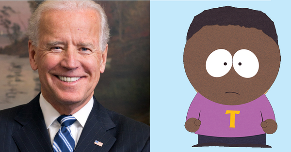 Joe Biden picks Token Black from South Park for VP