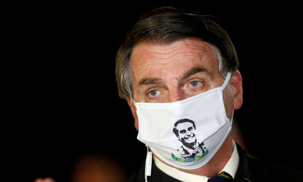 Brazilian president Jair Bolsonaro tests positive for being a Cunt