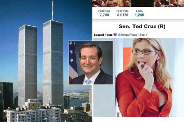 9/11: US prepares for solemn anniversary of that time Ted Cruz tweeted Incest Porn