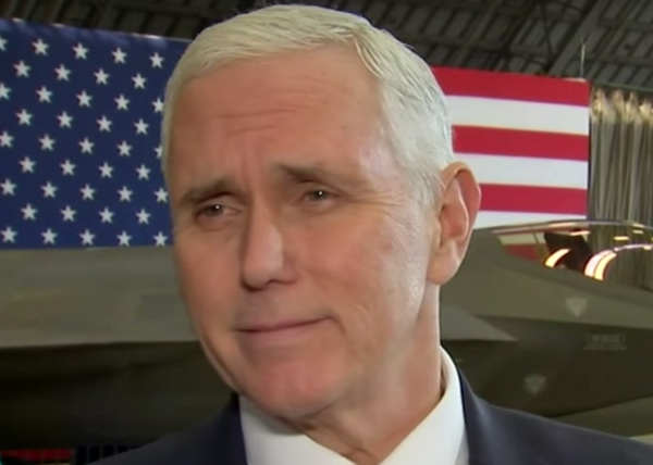 "Mike Pence's erection ""visible from space"", as Trump is admitted to hospital"